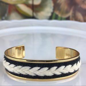 Stella & Dot Every Mother Gold Toned Cuff Bracelet